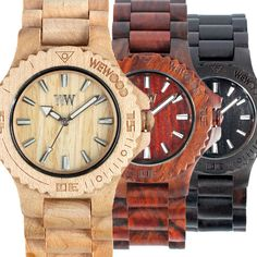Wooden watches. Perdy.