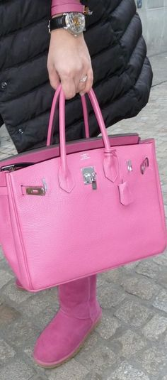 Hermes in pink .. yes please (yes I am totally dreaming!)