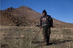 Shepherd, Atlas Mountain Range, Morocco