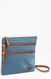 Dooney & Bourke 'Triple Zip' Nylon Crossbody Bag