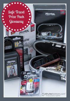 """Spring Safety – Master Lock """"Safe Travel"""" Prize Pack Giveaway #LSSS"""