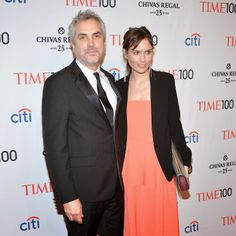 NEW YORK, NY - APRIL 29: Honoree Alfonso Cuaron and Sheherazade Goldsmith attend the TIME 100 Gala, TIME's 100 most influential people in the world, at Jazz at Lincoln Center on April 29, 2014 in New York City. (Photo by Ben Gabbe/Getty Images for TIME)