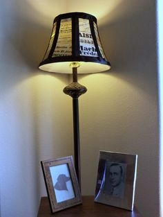Lampshade makeover.