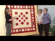 The Story Behind the Anniversary Stars Quilt - YouTube