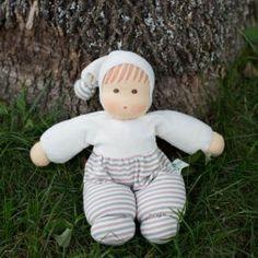 All-Natural Organic Waldorf Baby Doll. So soft and sweet!