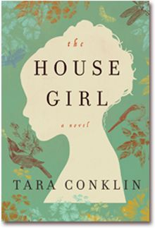 House Girl by Tara Conklin.  Join us on Monday, January 19 at 6:30pm in the Trustees Room as we weave between antebellum Virginia and modern-day New York while never leaving Dover, NH!