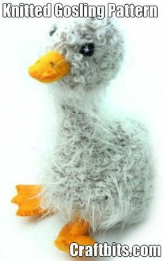 Knitted Gosling - Free Pattern