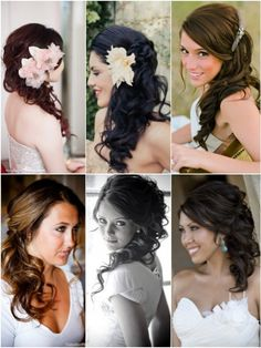 Hot on Pinterest: Side Do Wedding Hairstyles