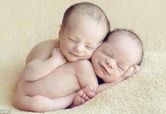 Twin newborns