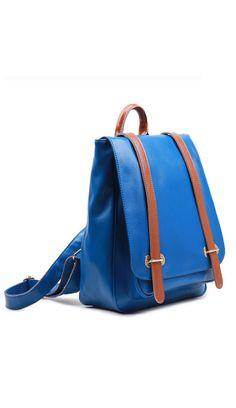 Korean fashion cowhide backpack