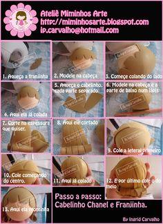 El Rincon Fofuchero/ molde cabello