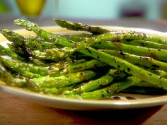 Great Grilled Asparagus Recipe : Sunny Anderson : Food Network
