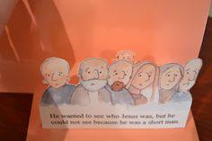 Bible Class Creations: Zacchaeus Book