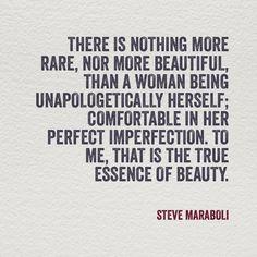 on woman beauty