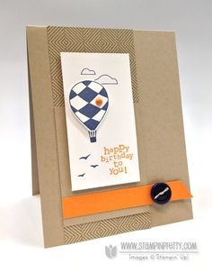 up, up, & away - stampin' up!