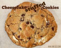 Cheesecake Stuffed Cookies!