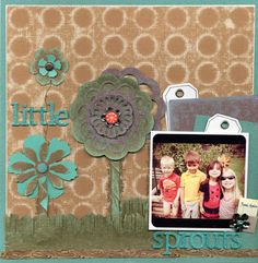 Core'dinations Chocolate Box layout from designer @April Derrick using circle  stencil from The Crafters Workshop to sand. C@@L!!!