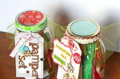 DIY Christmas Gift Idea ~ Pampering Set - PaperCrafter's Corner