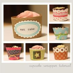 cupcake wrapper tutorial.