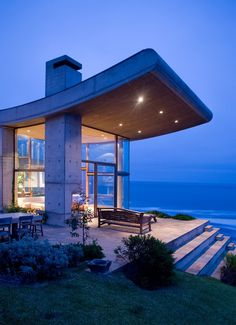Sea Retreat in Chile by Raimundo Anguita