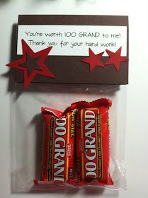 You're worth 100 grand to me.