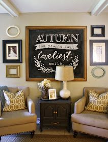 How to DIY Chalkboard Lettering