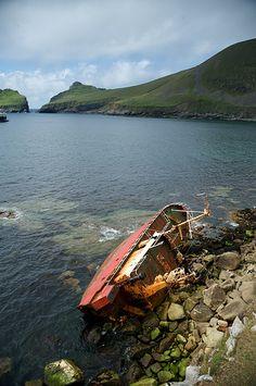 St. Kilda in the Outer Hebrides, via Flickr.