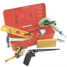 """Ages 5+.  Tools also sold separately.   Typed by my son: """"it is amazing. the  tools are amazing working on stumps, doing projects with grownups.  Young Builders Tool Set - ForSmallHands.com"""
