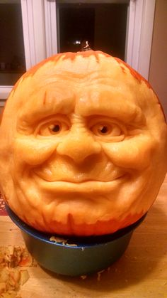 2014 Pumpkin Carving Contest entry of the day.