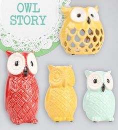 love these cute owls. have. to. have. them.