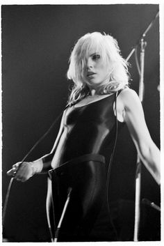 Deborah Harry...sometimes soooo sexy..others kinda scary