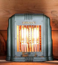 Vintage Green Heat II Lamp by Eastchester & Orange on Scoutmob Shoppe