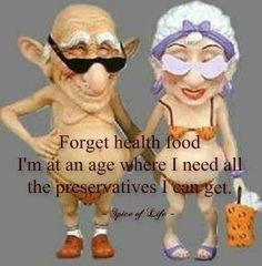 GROWING OLD ~ HA :)
