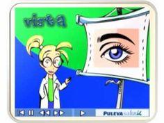 Video educativo Los cinco sentido