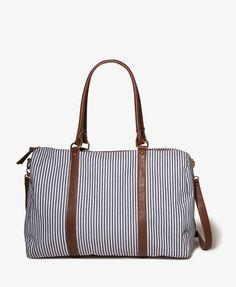 Cute weekender bag. So classy!