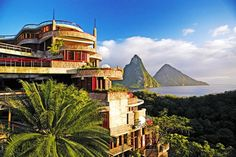 The Jade Mountain Resort in St. Lucia