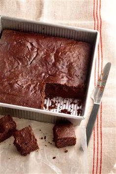 Dark Chocolate Brownies - healthy recipe from Ellie Krieger