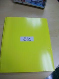 Lucy Calkins Writing Workshop-- Folder Ideas
