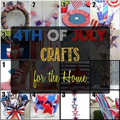 4th of July Home Decor Crafts