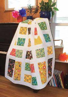 throw quilt, quick quilt, pattern, quilt kits, fiesta, brioch