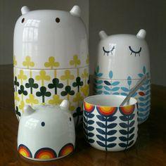 storage jars from Camila Prada