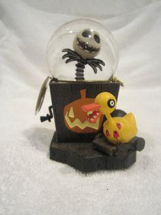 Disney's Nightmare Before Christmas-mini snowglobe w/Jack Skellington-NEW w/tag