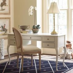 romantic style home office desk