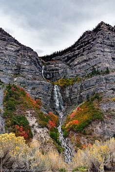 Bridal Veil Falls, UT