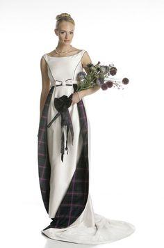 scottish dress, wedding dressses, scottish inspirationswed, celtic, weddings, dresses, gown, tartan, dress idea
