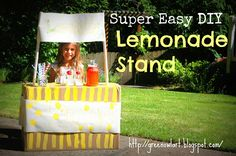DIY Lemonade Stand from Green Owl Art