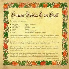 Summer Solstice Love