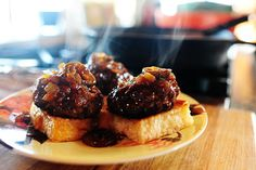 BBQ Whiskey Beef Sliders ... OMG!