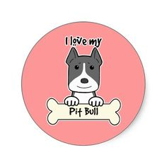 I Love My Pitbull
