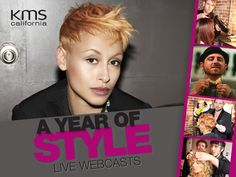 Welcome to the KMS California Live Online. A Year of Style! Via, ProHairTools.com